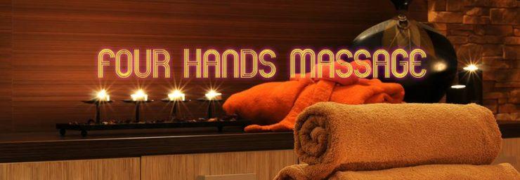 four hands massage london
